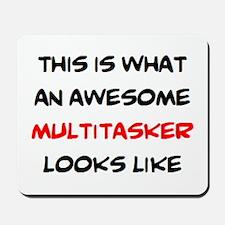 awesome multitasker Mousepad