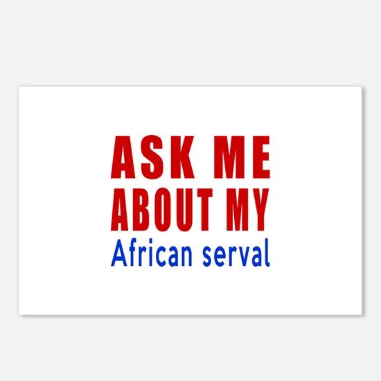 Ask Me About My African s Postcards (Package of 8)