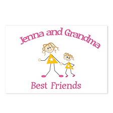 Jenna & Grandma - Best Friend Postcards (Package o