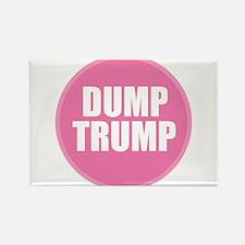 PINK - Dump Trump B Magnets