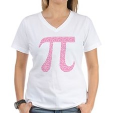 Pink Heart Pi Shirt