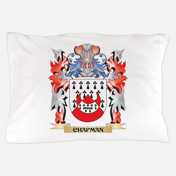 Chapman Coat of Arms - Family Crest Pillow Case