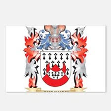 Chapman Coat of Arms - Fa Postcards (Package of 8)