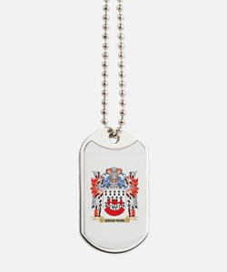 Chapman Coat of Arms - Family Crest Dog Tags