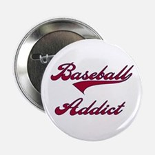 Baseball Addict Red Button