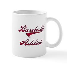 Baseball Addict Red Mug