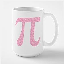 Pink Heart Pi Mug