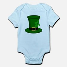 Four Leaf Clover Green Hat Body Suit