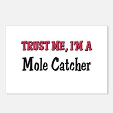 Trust Me I'm a Mole Catcher Postcards (Package of