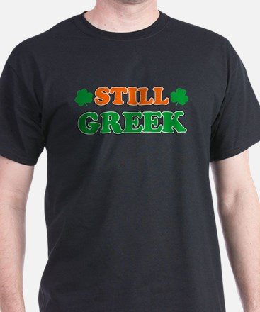 Still Greek Irish Shamrock T-Shirt