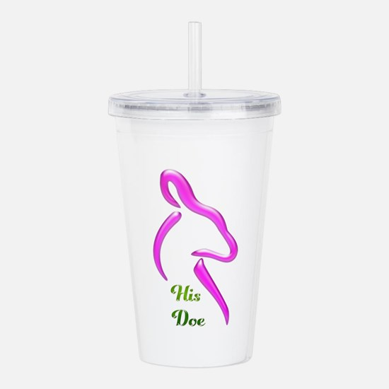 His Doe Acrylic Double-wall Tumbler
