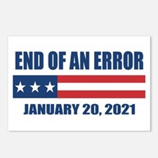 End of an Error 2021 Postcards (Package of 8)