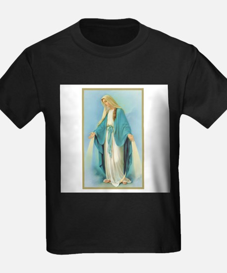 Virgin Mary Ash Grey T-Shirt