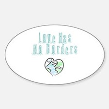The Flow Of Love Decal