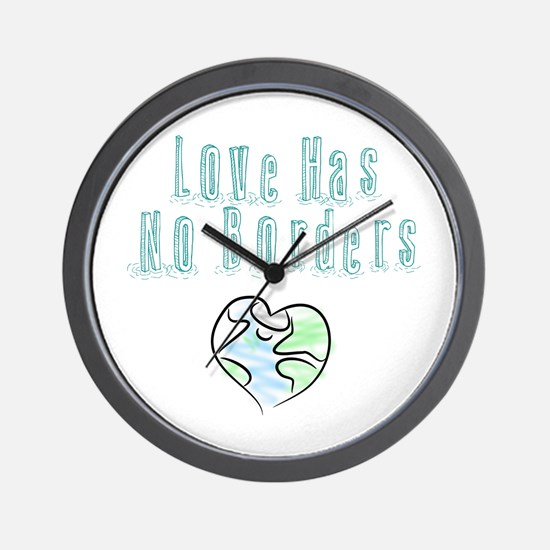 The Flow Of Love Wall Clock