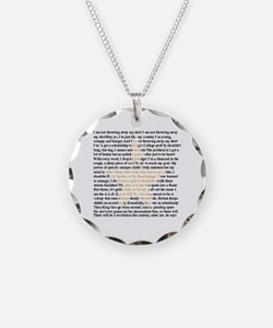 Funny Musical Necklace
