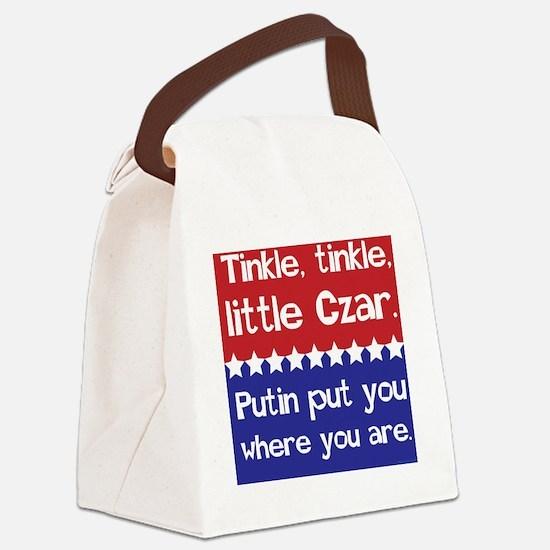 Tinkle Tinkle, Little Czar Canvas Lunch Bag