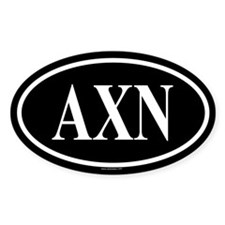 ALPHA CHI NU Oval Decal