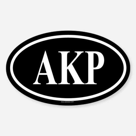 AKR Oval Decal