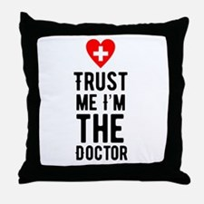 Doctor Throw Pillow