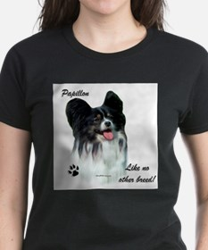 Papillon Breed Ash Grey T-Shirt
