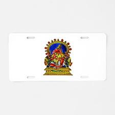 GANESH Aluminum License Plate