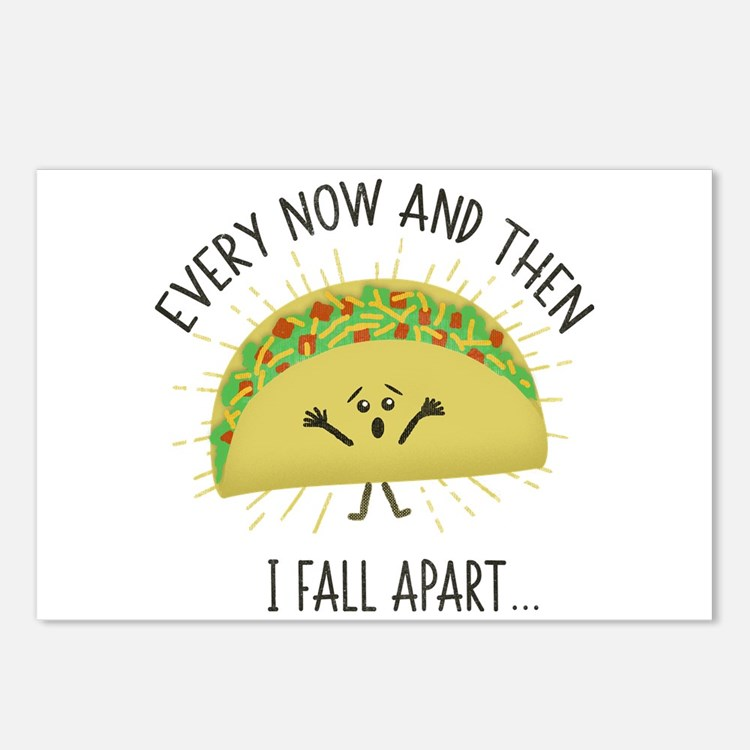 Every Now and Then I Fall Postcards (Package of 8)