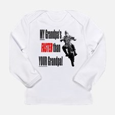 faster.gif Long Sleeve T-Shirt