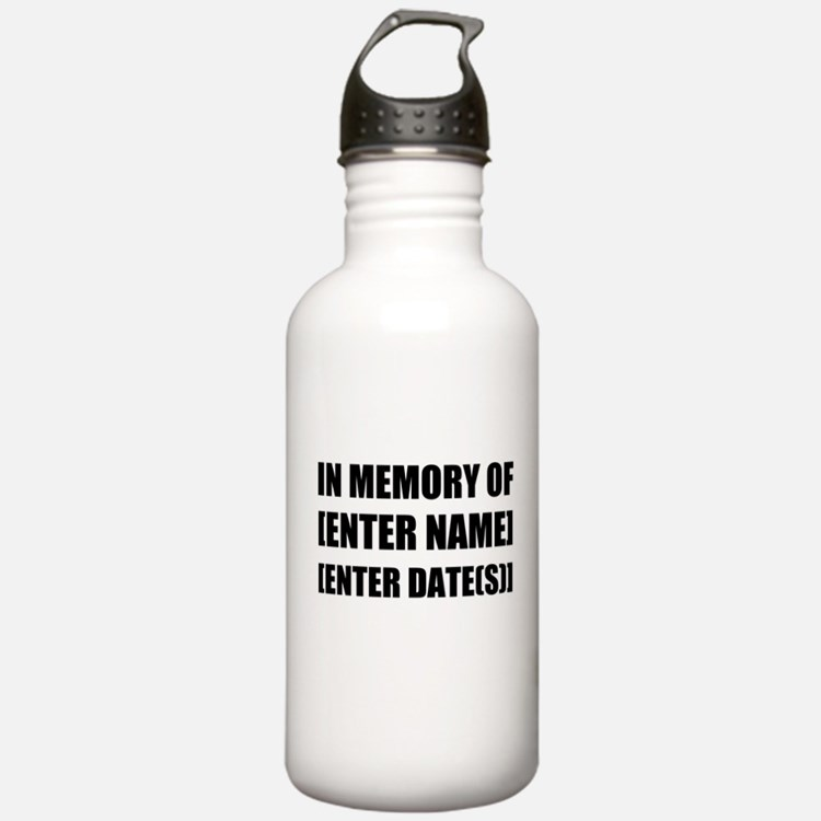 In Memory Of Personalize It! Water Bottle