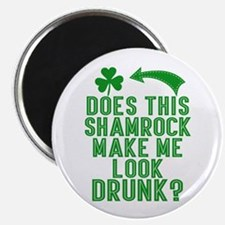 Funny St Patricks Day Drunk Quote Magnets
