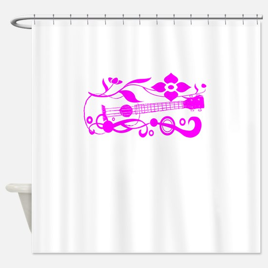 ukulele Shower Curtain