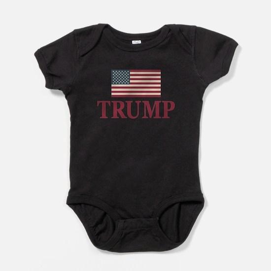 Trump 2016 Flag Body Suit