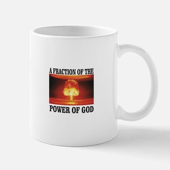 fraction of gods power Mugs