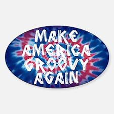 Make America Groovy Again Decal