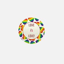 LOVE is LOVE! Mini Button