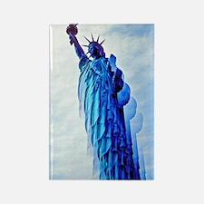 Unique Statue liberty Rectangle Magnet