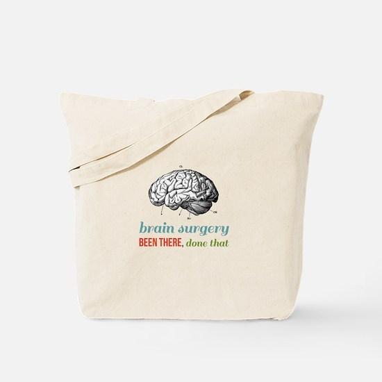 Brain Surgery Tote Bag