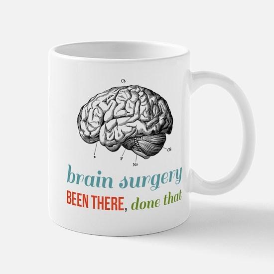 Brain Surgery Mugs