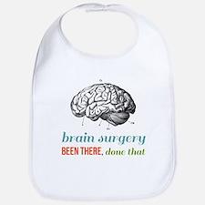Brain Surgery Baby Bib