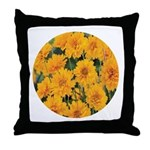 Coreopsis Early Sunrise Throw Pillow