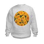 Coreopsis Early Sunrise Kids Sweatshirt