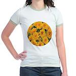 Coreopsis Early Sunrise Jr. Ringer T-Shirt