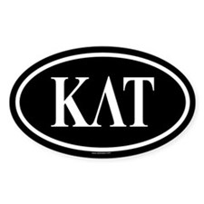 KAPPA LAMBDA TAU Oval Decal