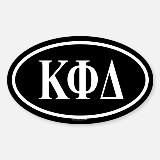 KAPPA PHI DELTA Oval Decal