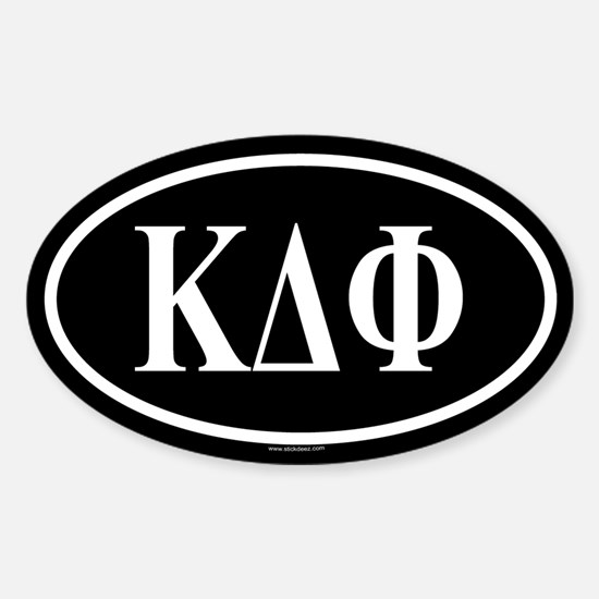 KDP Oval Decal
