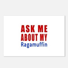 Ask Me About My Ragamuffi Postcards (Package of 8)