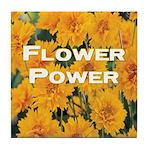Coreopsis Flower Power Tile Coaster