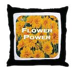 Coreopsis Flower Power Throw Pillow