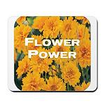 Coreopsis Flower Power Mousepad