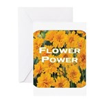 Coreopsis Flower Power Greeting Cards (Pk of 10)